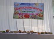 Trường Mầm Non Đại Hòa tổ chức tiệc Bufeet cho trẻ năm học 2018-2019